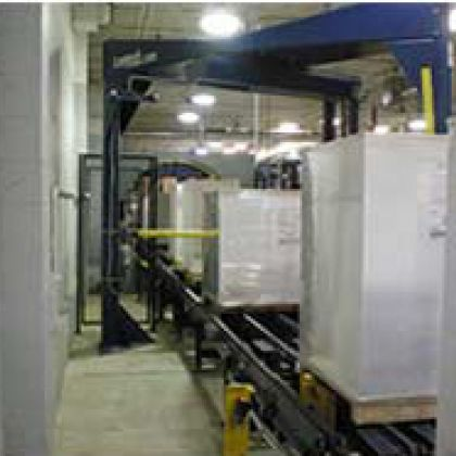 Pallets of Shrink Wrapped Paper