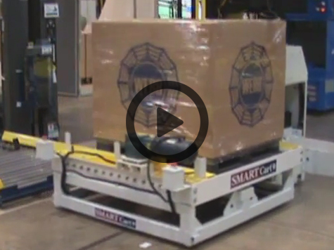 Automated Guided Storage Vehicles Video