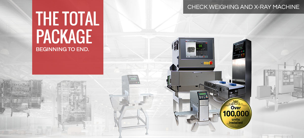 Checkweighing and X-ray Machine